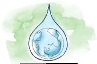 water globe drop